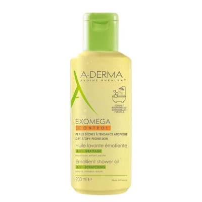A-Derma Exomega Emollient Shower OIL 200ml