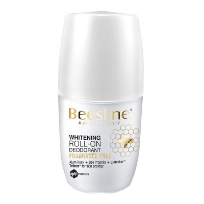 Beesline Roll-On Deo Whitening Fragrance Free 50ml