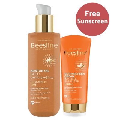 Beesline Oil Suntan Gold & Sunscreen Offer