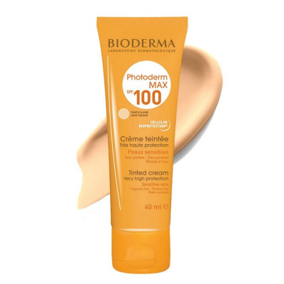 Bioderma Photoderm Light Tinted Cream Sunscreen SPF100 40ml