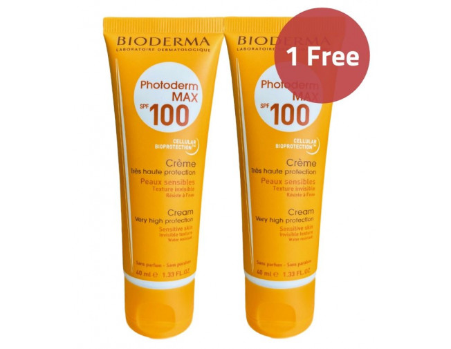 Bioderma Photoderm Cream SPF100 Sunscreen Offer