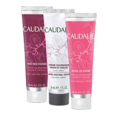 Caudalie Hand & Nail Cream Trio