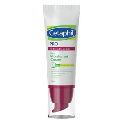 Cetaphil Night Moisturizer for Redness-Prone Skin 50ml