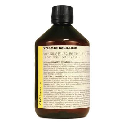 Eva Professional Vitamin Recharge Cleansing Balm – Shampoo 500ml