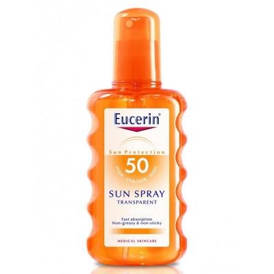 Eucerin Sun Body Spray Transparent SPF50 200ml