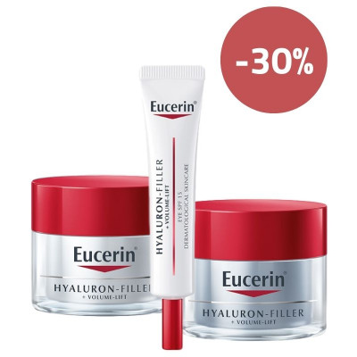 Eucerin Hyaluron Filler + Volume Lift Set