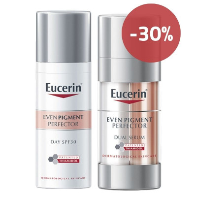 Eucerin Even Pigment Day Cream & Serum Set