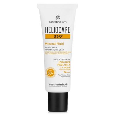 Heliocare 360 Mineral Fluid Sunscreen SPF50 50ml