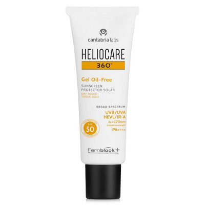 Heliocare 360 Gel Oil-Free Sunscreen SPF50 50ml