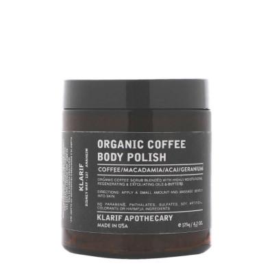 Klarif Organic Coffee Body Polish 125g