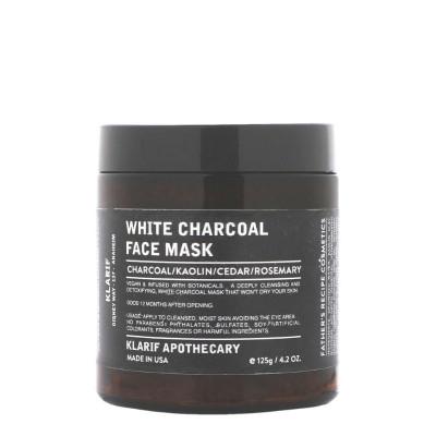 Klarif White Charcoal Detoxifying Face Mask 119g