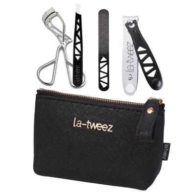 LaTweez Mini Beauty Travel Kit – Black