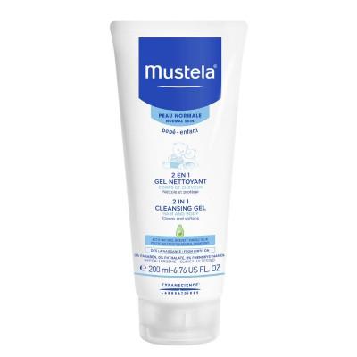 Mustela 2 in 1 Cleansing Gel 200ml