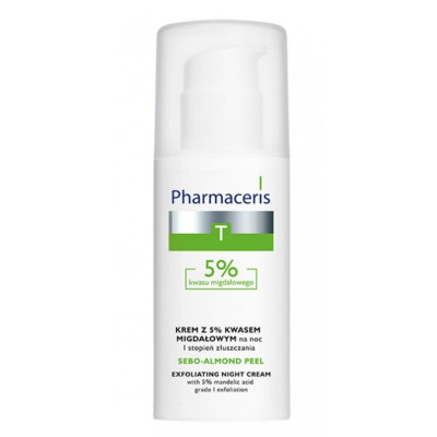 Pharmaceris Sebo-Almond Peel 5% Exfoliating Night Cream 50ml