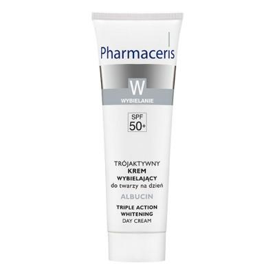 Pharmaceris Albucin Triple Action Whitening Day Cream 30ml