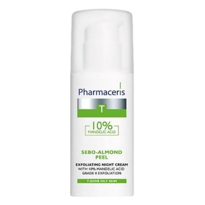 Pharmaceris Sebo-Almond Peel 10% Exfoliating Night Cream 50ml