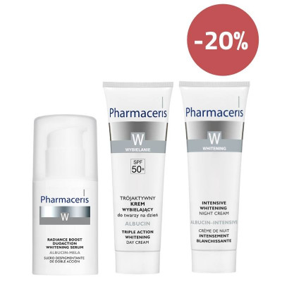 Pharmaceris Whitening & Hyperpigmentation Treatment Set