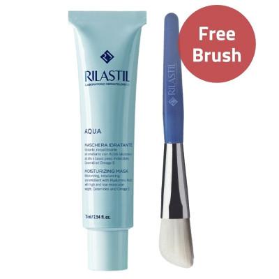 Rilastil Aqua Moisturizing Face Mask & Brush Offer