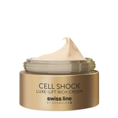 Swissline Cell Shock Luxe-Lift Rich Cream 50ml