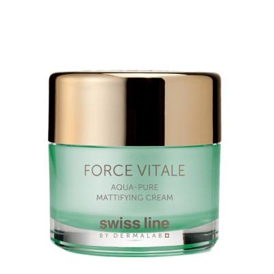 Swissline Force Vitale Aqua-Pure Mattifying Cream 50ml