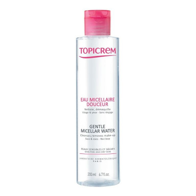 Topicrem Gentle Cleansing Micellar Water 200ml