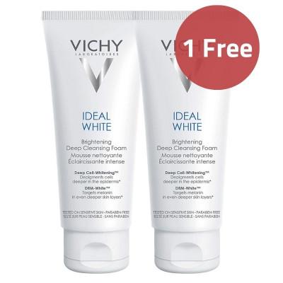 Vichy Ideal White Brightening Deep Cleansing Foam 100ml