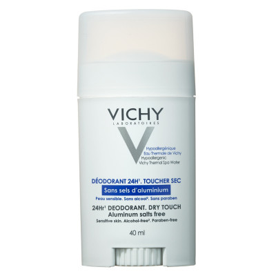 Vichy 24 Hour Dry Touch Deodorant Stick 40ml