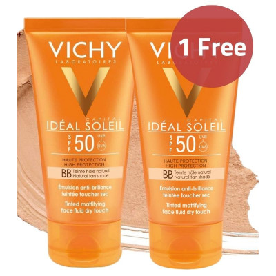 Vichy BB Tinted Mattifying Fluid Dry Touch Sunscreen Offer