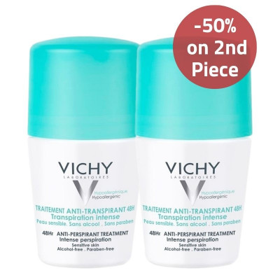 Vichy Anti-Perpsirant Deodorant 50% on 2nd Piece Offer